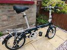 Bickerton Pilot 1406 folding bike British Racing Green (rare)