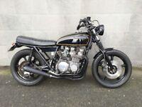 Kawasaki Z650B 1978 Cafe Racer Brat bike Flat Tracker 6*months MOT