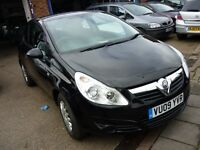 Vauxhall Corsa Life CDTi 3dr (black) 2009