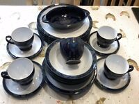 Collection of Denby Baroque Stoneware Tableware