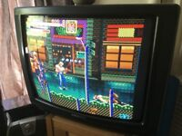 Retro Gaming CRT TV