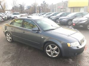 2003 Audi A4 3.0L/AWD/AUTOAIR/LEATHER/ROOF/LOADED/ALLOYS