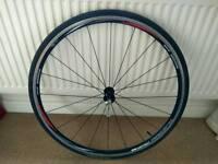 Shiman WH-R500 Front wheel c/w tyre, tube & qr skewer