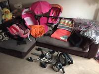 QUINNY BUZZ COMPLETE TRAVEL SYSTEM 2-in-1 with lots of extras