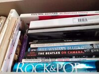 Rock and roll, guitar books