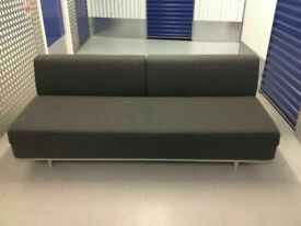 MUJI T2 Sofa Bed. 3 Seater Sofabed. Charcoal Grey. VERY Latest Model COST £750. I CAN DELIVER