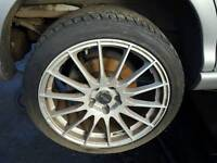 4 jaguar and ford 5 stud alloy wheels and tyres