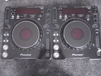 1x Pioneer CDJ MK3 & 1x Pioneer CDJ MK2