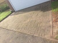 Block pavers approx. 15sqm used free for collection