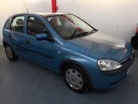 """Immaculate little 5 door Corsa 1.2 82000 miles fully serviced and Mot""""d"""