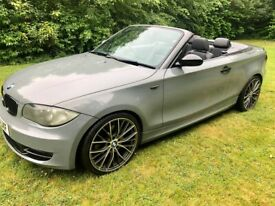 image for BMW 120D Cabrio - mercedes vw golf gtd audi a1 a3 a4 civic mx5 boxster mini px warranty leather