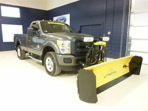 2013 Ford F-350 RCAB 4X4 DIESEL PELLE À NEIGE