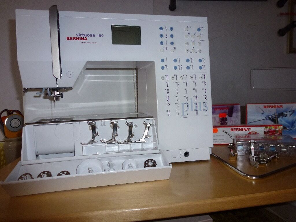 Bernina virtuosa 160 plus sewing machine excellent conditionny bernina virtuosa 160 plus sewing machine excellent conditionny additional accessories fandeluxe Gallery