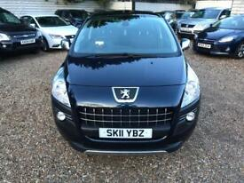 PEUGEOT 3008 1.6 EXCLUSIVE HDI 5d 112 BHP 1 FORMER OWNER 2 KEYS (blue) 2011