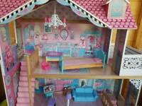Barbie dolls house **price reduced**