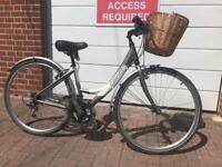 Ladies bike Apollo etienne hybrid town bicycle