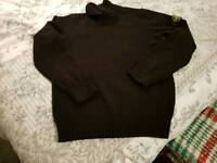 Stone Island Boy Young Man Original Authentic Stone Island Jumper Age 14 Jumper Ideal School Jumper