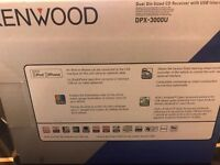 Kenwood Dual Sized CD and iPOD for CAR