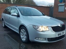 2012 SKODA SUPERB 1.6 TDI CR GREENLINE £30 ROAD TAX FULL SERVICE HISTORY OCTAVIA PRIUS PASSAT GALAXY