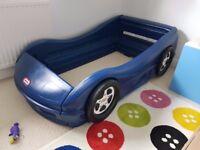 Little Tikes Toddler Car Bed + Mattress