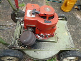 Hayter Hayterette rough cut vintage lawnmower fully serviced electronic ignition briggs and stratton