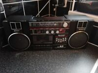 Sharp GF-A2 Retro 1980's Boombox