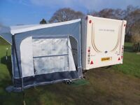 Touring Caravan, Bailey Senator Vermont Series 6. 2007 In Excellent condition with awning and extras