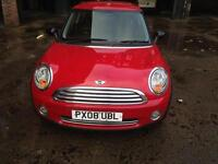 2008 MINI ONE 1.4 LOW MILEAGE& 1 OWNER FROM NEW