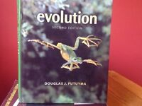 Evolution by Futuyama, second edition