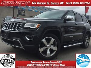 2016 Jeep Grand Cherokee Limited | LUXURY PKG | DUAL DVD & SUNRO