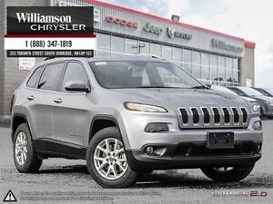 2016 Jeep Cherokee *NORTH 4x4**COLD WEATHER GRP**V6**UCONNECT 8.