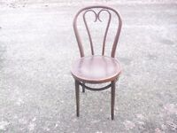 Lovely Vintage Beech Bentwood Cafe Bistro Chair