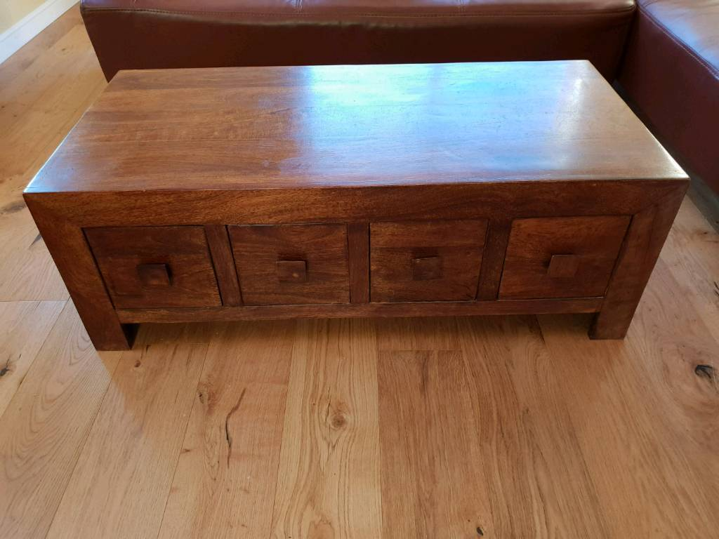 Mango 8 Drawer Coffee Table In Inverness Highland Gumtree