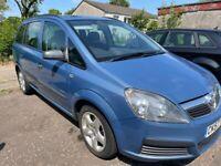 Vauxhall Zafira 7 Seater 2.2 Automatic. 11 months MOT