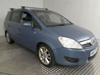 2008 VAUXHALL ZAFIRA 1.9 CDTi ELITE 150BHP MET BLUE,LEATHER,6 SPEED,CLEAN CAR