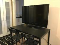 """42"""" LG LCD TV with 2 remote controllers"""