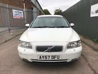 VOLVO V70 2.4 T5 SE ESTATE PETROL WHITE 2008