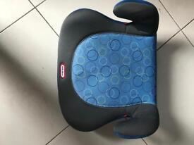 Blue little tykes car seat