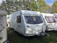 2007 Lunar Quasar 615 5 berth caravan for sale
