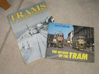 BRITISH TRAM BOOKS X 2