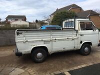 Classic Volkswagen T25 pickup 1 owner from new 50800 miles genuine 12 months mot
