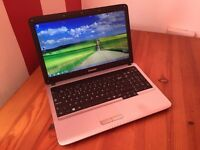 "Laptop for sale Samsung RV510 /4Gb Ram/250Gb Storage/Windows 7/15.6"" HD Screen"