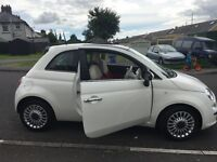 Fiat 500 Lounge, excellent condition, 1 previous female owner