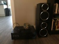Speaker and Amplifier in excellent condition for sale!