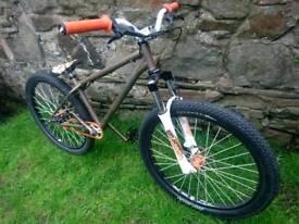 Custom DMR Sidekick mark 2 jump bike