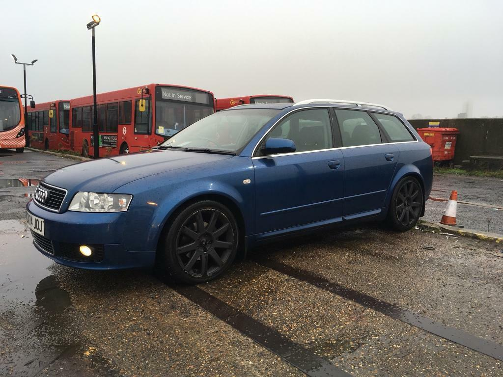 2004 audi a4 b6 avant sport s line mauritius blue with black leather interior in grays essex. Black Bedroom Furniture Sets. Home Design Ideas