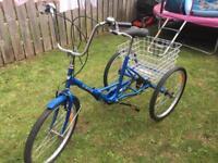 """JORVIK 24"""" 3 wheel pedal bike"""