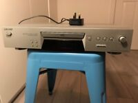 Sony CD player, silver: CDP-XE270 hifi stereo separate drawer compact disc player