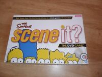 Simpson Scene it game with instructions as new