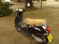 hpi clear piaggio vespa LX50cc 2 stroke